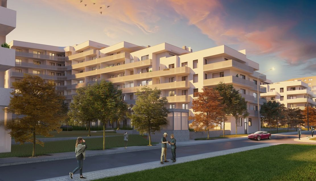 Tulipa Trebesin III - new apartments Prague 3