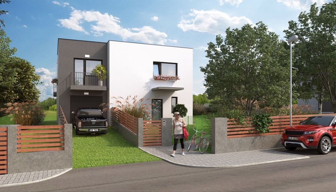 Zahrady Roztoky IV - new family houses for sale